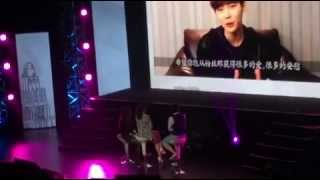 [28.03.2015] Video Messages From KYK, LYB & LJS To ParkShinHye @ Shanghai FM
