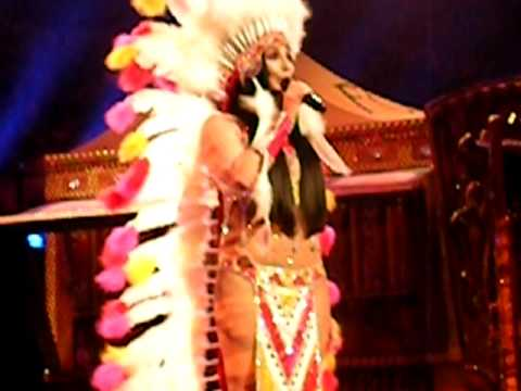 Cher half-breed Live At Caesars Palace December 20th, 2009 video