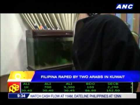 Filipina raped by 2 Arabs in Kuwait