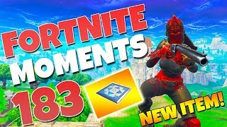 THE *NEW* BOUNCER PAD IS AMAZING!! (TRY THIS NEW TRICK!) | Fortnite Funny Moments #183