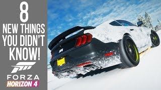 Forza Horizon 4 - 8 NEW Secrets, Easter Eggs and Glitches You Didn't Know!
