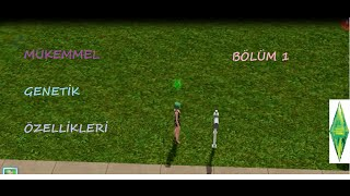 Mükemmel Genetik Özellikleri - Bölüm 1 | İlk bölümden koca arayışı!  (Sims 3)