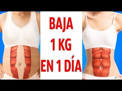 Dieta Para Bajar 1 Kilo En Un Día