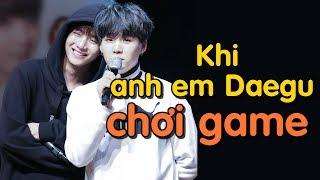 [BTS-SugaTaehyung] Khi anh em Daegu chơi game =))))