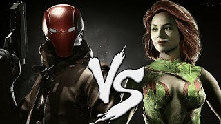 Injustice 2 Red Hood vs Poison Ivy! Finale Week of Jason Todd
