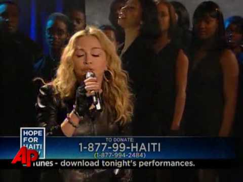 Highlights of  Hope for Haiti Now  Concert