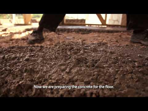 Shelter construction Port-au-Prince, Haiti (Time-lapse, English Subs)