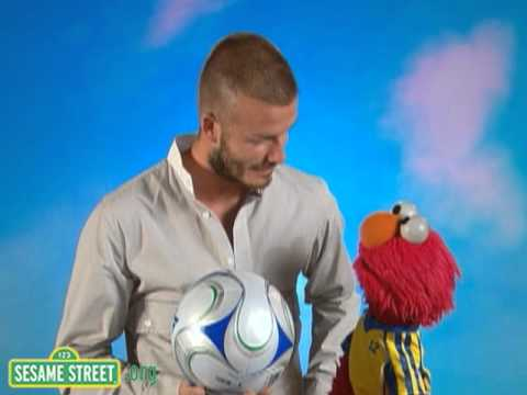 Sesame Street: Backstage With Elmo &amp; David Beckham