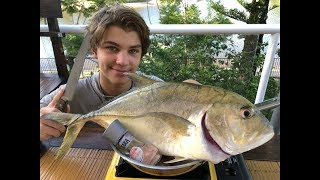 Giant TREVALLY - Catch n Cook! HD