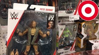 TOY HUNTING AT TARGET FOR WWE ELITE PETE DUNNE & MORE