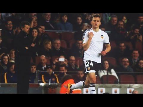 Denis Cheryshev vs Barcelona(Away) [Debut] 03.02.16 HD