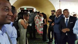 Yonas & Beza Ethiopian wedding entrance