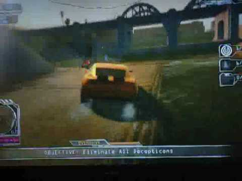 Transformers 2 The Game PS3 Bumblebee Gameplay