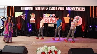 2017 Best Dance Performance by IRELAND TELUGU GUYS for 90's Evergreens to Shape of you.