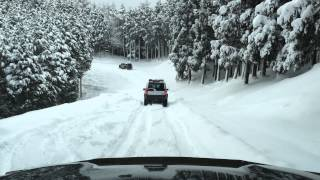 Snow Attack in TONOMINE FJ&LR3