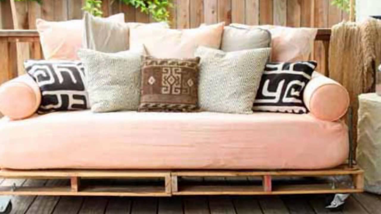 palet koltuk nas l yap l r youtube. Black Bedroom Furniture Sets. Home Design Ideas