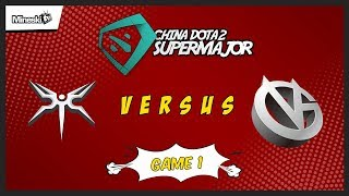Mineski vs Vici Gaming | Bo3 | China Dota 2 Supermajor | Lower Bracket | Game 1
