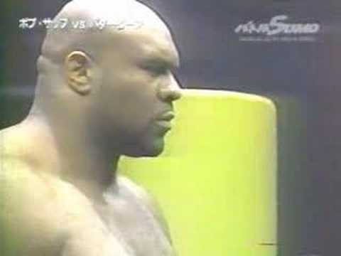 Bob Sapp Vs Butterbean (Sumo Contest) Video
