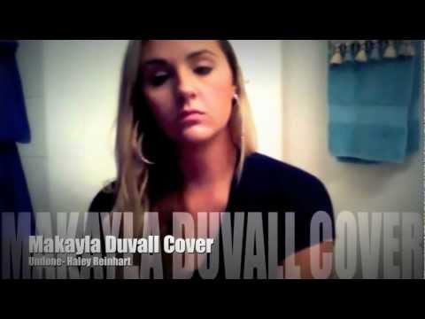 Download Lagu Undone- Haley Reinhart Cover (Makayla Duvall) MP3 Free