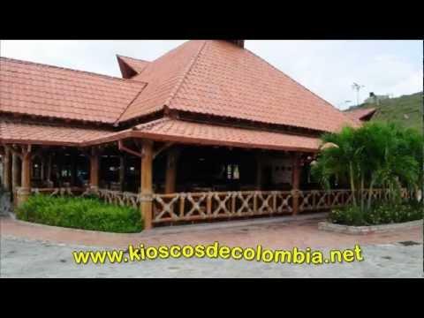 Kioscos de colombia youtube for Kioscos prefabricados de madera