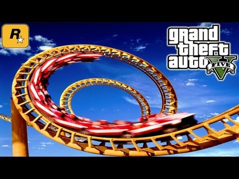 GTA5 Roller Coaster (Tutorial) :: Grand Theft Auto V [PS3 / Xbox 360] ᴴᴰ