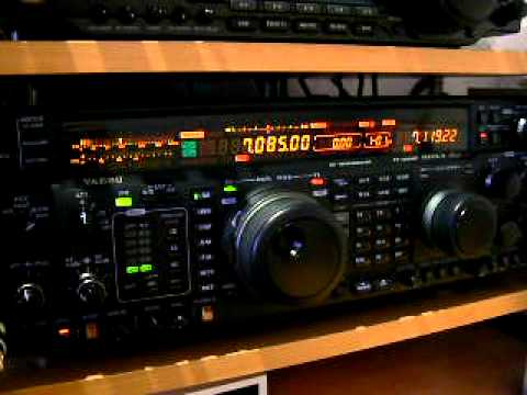 Yaesu FT-1000MP Mark V Field 1st Video