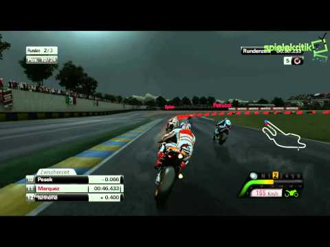 MotoGP™13  Gameplay Le Mans Marc Marquez [HD]