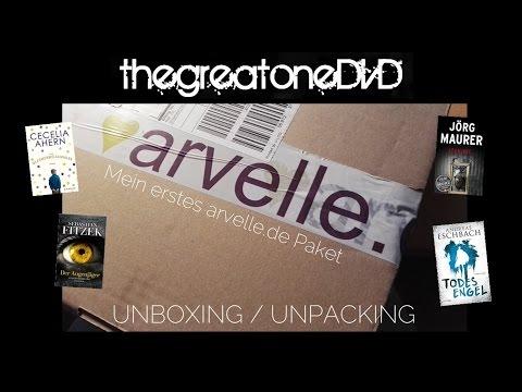 Arvelle Unboxing/Unpacking | Bücher | Dezember 2016