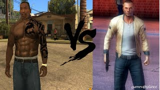 GTA San Andreas vs Gangstar Vegas Comparison Review #2
