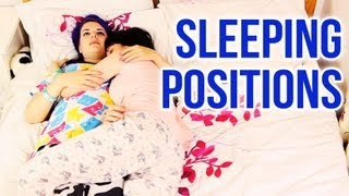 20 Sleeping Positions (ft. Cherry Wallis)
