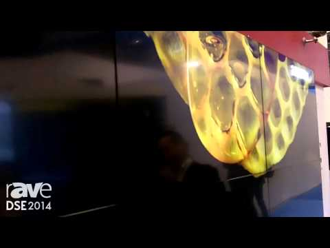 DSE 2014: LG Exhibits Its Video Wall with 3.5 mm Bezel