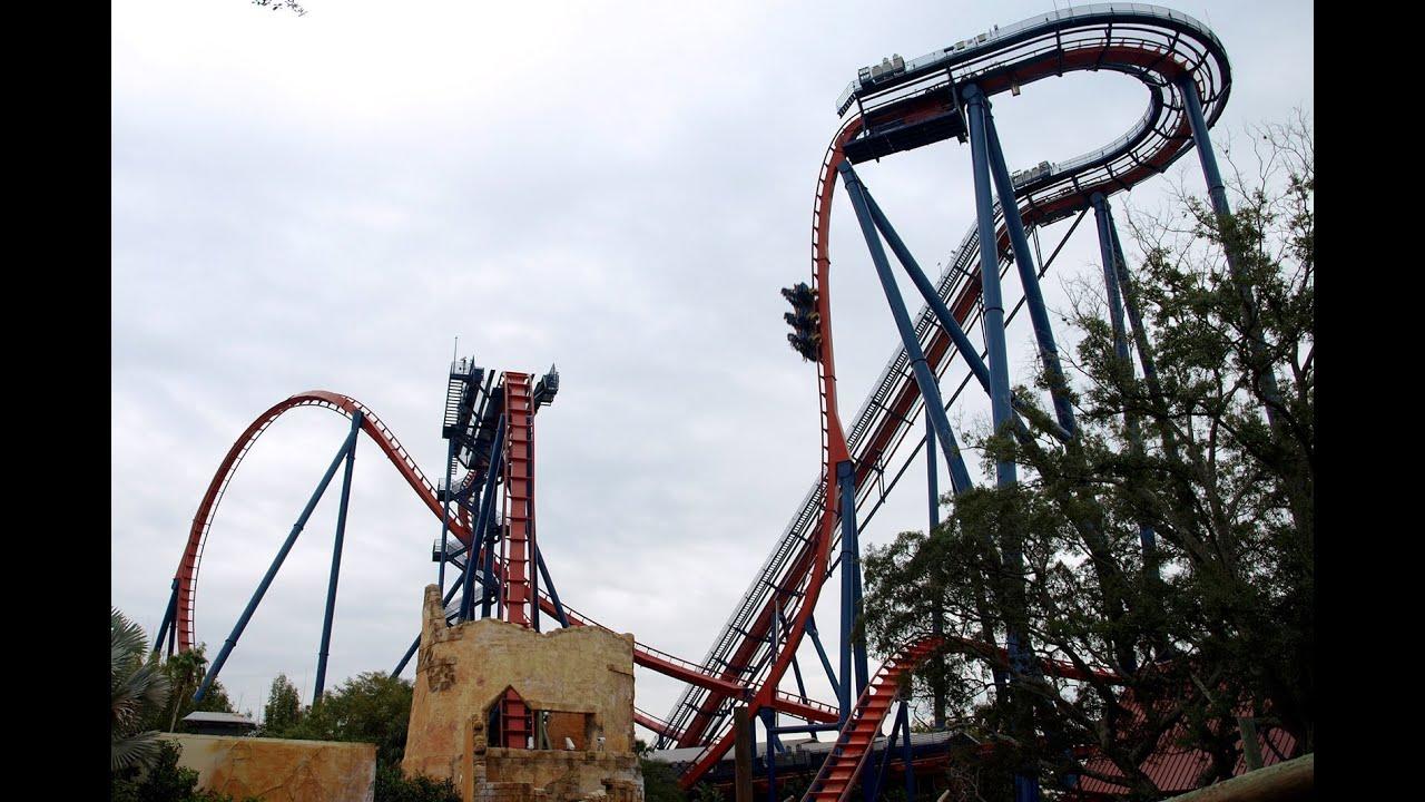 Sheikra Roller Coaster Dvd After Ride Busch Gardens Tampa Fl Youtube