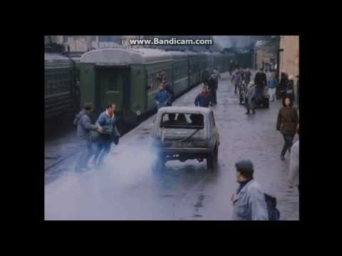 Экспресс до Пекина / Bullet to Beijing (1995) Car Chase Scene.