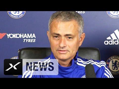 Eden Hazard und Rugby? Jose Mourinho scherzt | FC Chelsea - Maccabi Tel Aviv 4:0