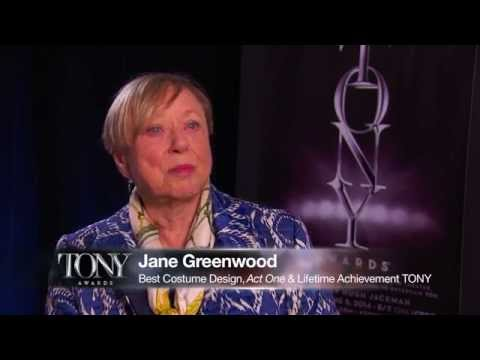 2014 Tony Awards Meet the Nominees: Jane Greenwood