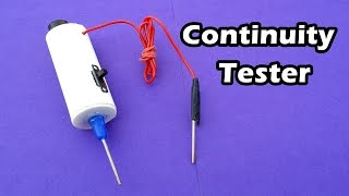 How to Make a Continuity Test at home - Easy Tutorials