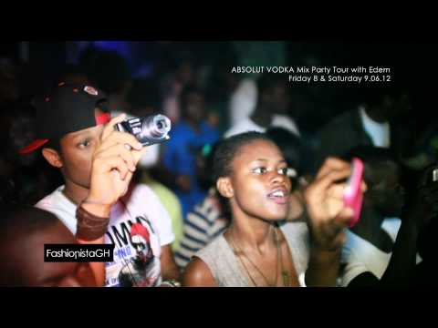 ABSOLUT VODKA Mix Party Tour With EDEM 2 & 3