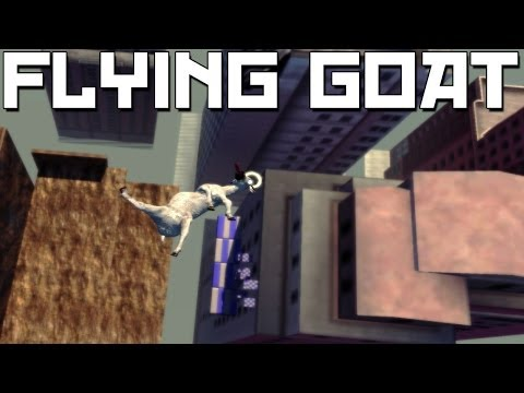 Goat Simulator - Impossible Angel Assault Course! (Goat Lord Adventures #2)