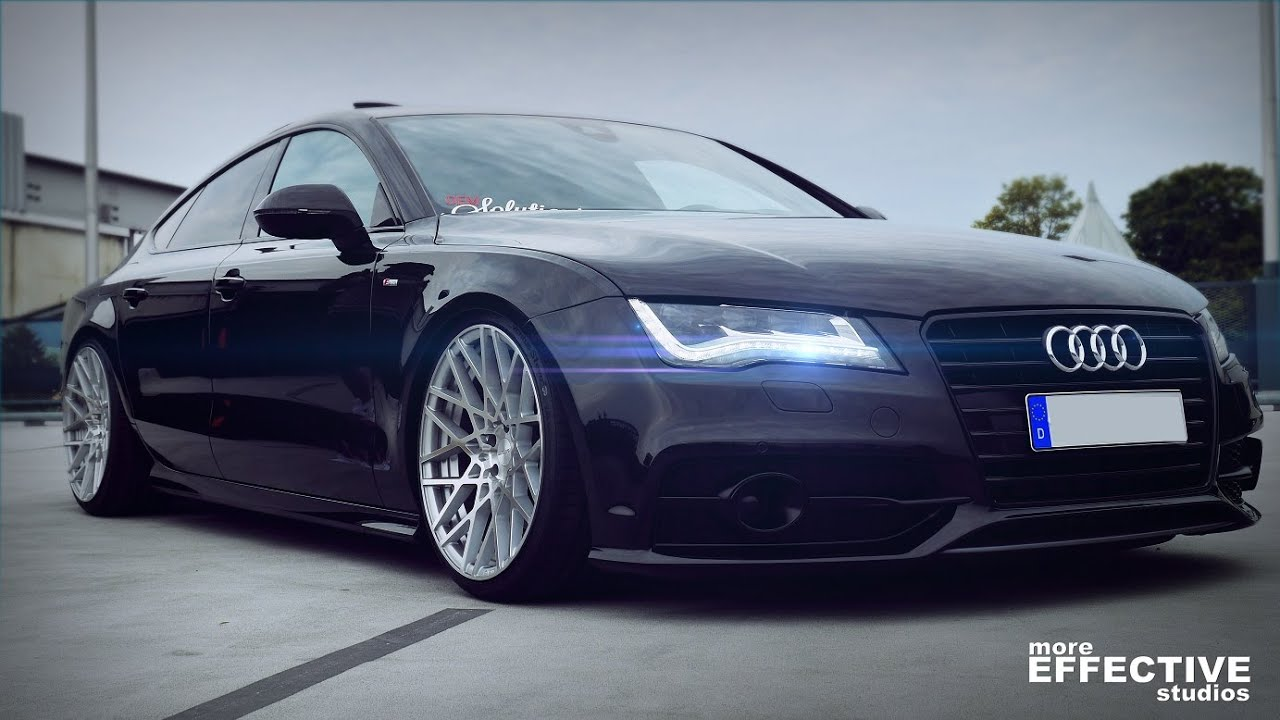 Audi a7 3 0 tdi quattro on 20 quot rotiform with air more