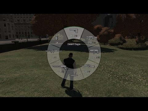GTA 5 Weapon Wheel HUD