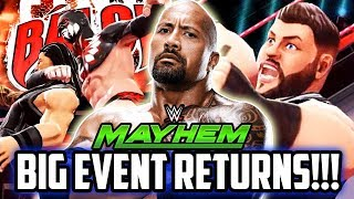 WWE MAYHEM SPECIAL EVENT RETURNS! VERSUS CHANGE & 4 STAR BACKLASH!!!