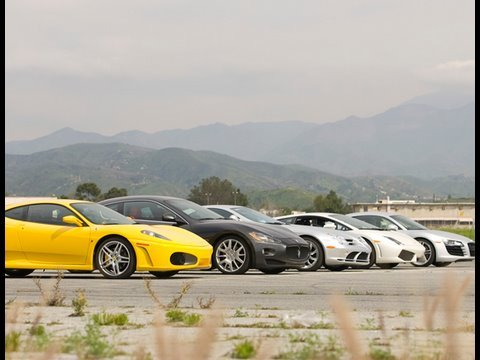 Supercar Shootout! - Epic 5-Car Drag Race