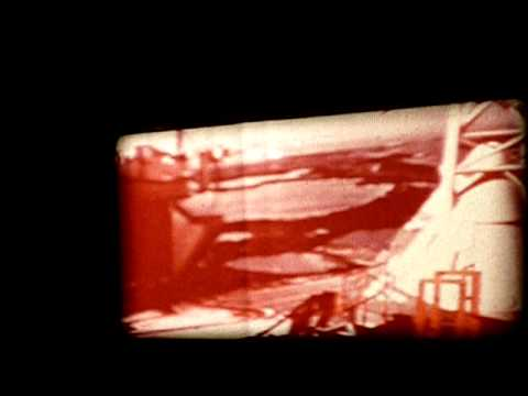 Apollo 11 8mm Movie Film Takeoff on Canon Cine-Projector S-400 8mm Projector