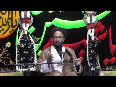 Majlis-Night Of 4th Muharram 1438 By Maulana Syed Moosa Raza Naqvi In Darbar-e-Masumeen.