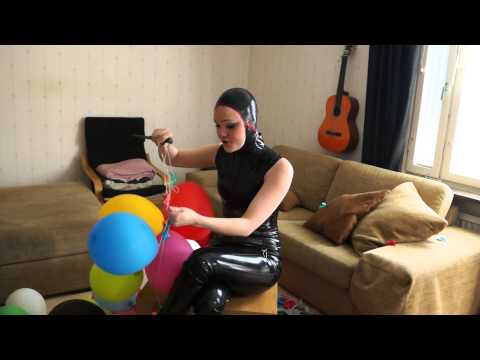 Latex Lectures with Dementhia - How to end a party? POP BALLOONS!