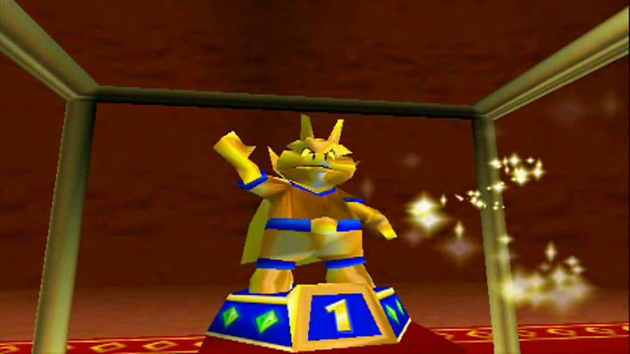 how to get drumstick in diddy kong racing