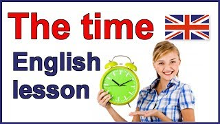 How to tell the time in English | English lesson
