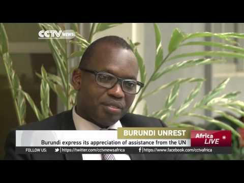 Burundi express its appreciation of assistance from the UN