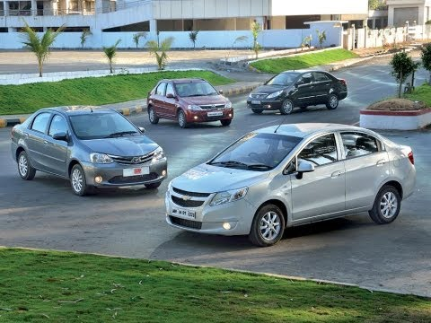 Chevrolet Sail Vs Toyota Etios Vs Tata Manza Vs Mahindra Verito   Comparison Test   Autocar India