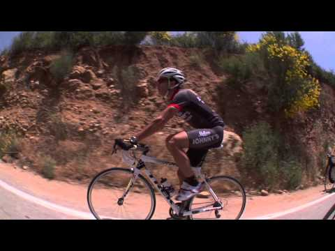 Tour of California - The Ride up Mount Baldy